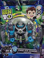 Ben 10 Фигурка 12,5 см Бронированный Шок Рок (76150)