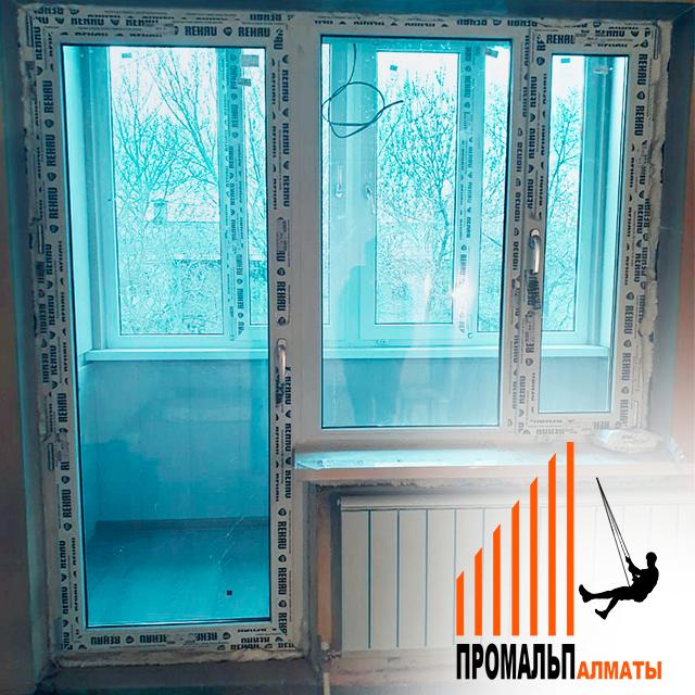Утепление лоджий и балконов в Алматы (под ключ) - фото 2