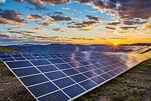 Сетевая солнечная электростанция на 40 кВт/час