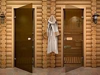 Двери для бани и сауны .