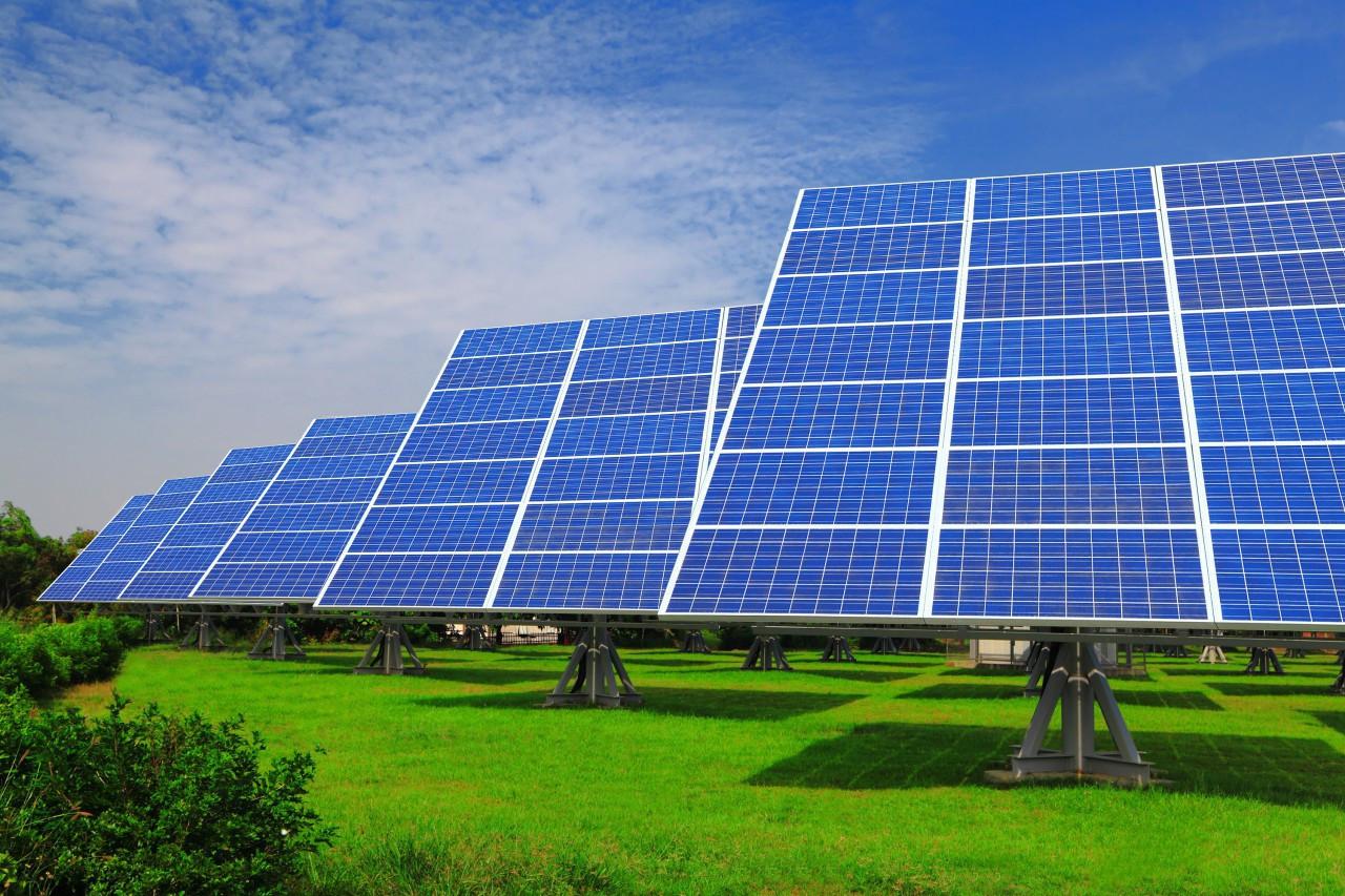 Сетевая солнечная электростанция на 30 кВт/час
