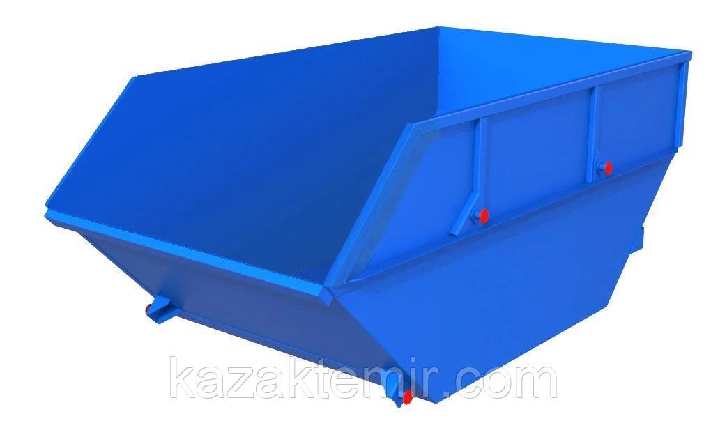 Бункер накопитель для ТБО (бункер для мусора, бадья) на 10 м. куб.