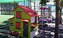 Детский игровой  домик двухэтажный, фото 5