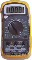 Мультиметр цифровой обрезиненый корпус MASTECH MAS830