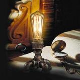Лампа светодиодная led Эдисона 4 ватт,  лампы ретро-стиля, ретро лампы, винтажные лампы, старинные лампы, фото 9