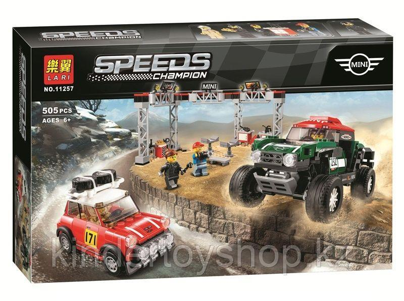 "Конструктор аналог лего LEGO 75894 Lari 11257 Speed Champions ""Mini Cooper и John Cooper works Buggy"" 505 дет."