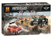 """Конструктор аналог лего LEGO 75894 Lari 11257 Speed Champions """"Mini Cooper и John Cooper works Buggy"""" 505 дет."""