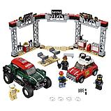 "Конструктор аналог лего LEGO 75894 Lari 11257 Speed Champions ""Mini Cooper и John Cooper works Buggy"" 505 дет., фото 2"