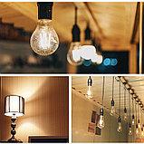 Лампа светодиодная led Эдисона 9 ватт,  лампы ретро-стиля, ретро лампы, винтажные лампы, старинные лампы, фото 3