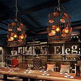 Лампа светодиодная led Эдисона 9 ватт,  лампы ретро-стиля, ретро лампы, винтажные лампы, старинные лампы, фото 6