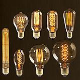 Лампа светодиодная led Эдисона 9 ватт,  лампы ретро-стиля, ретро лампы, винтажные лампы, старинные лампы, фото 7