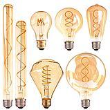 Лампа светодиодная led Эдисона 9 ватт,  лампы ретро-стиля, ретро лампы, винтажные лампы, старинные лампы, фото 10