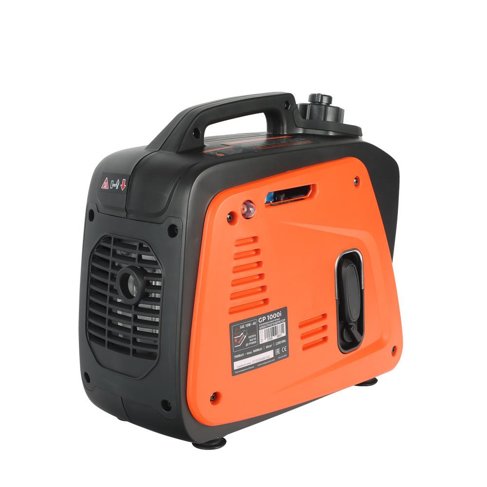 Генератор инверторный PATRIOT 1000i, 0,7/0,9 кВт, уровень шума 58 dB,  вес 8,5 кг