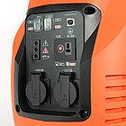 Генератор инверторный PATRIOT 3000il, 3,0/3,5 кВт, уровень шума 63 dB, колеса, вес 31,5 кг, фото 8