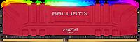 Оперативная память 16GB DDR4 3200MHz Crucial Ballistix RGB Gaming Memory RED PC4-25600 1.35V CL16 16-18-18-36