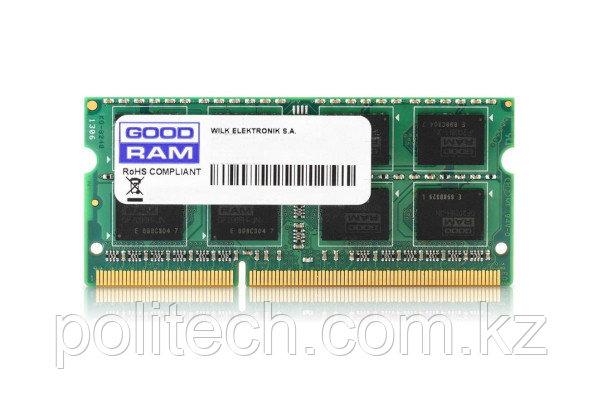 Оперативная память для ноутбука 4Gb DDR3 1600Mhz GOODRAM SODIMM PC3-12800 CL11 1.35V GR1600S3V64L11S/4G