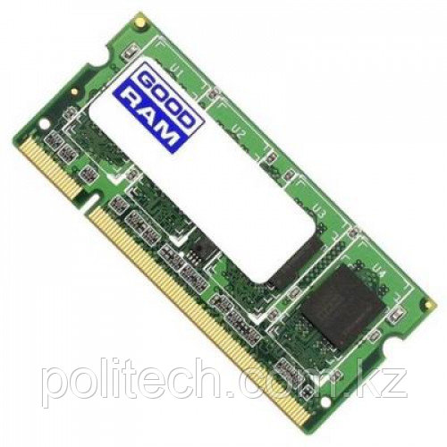 Оперативная память для ноутбука 8Gb DDR3 1600Mhz GOODRAM SODIMM PC3-12800 CL11 GR1600S364L11/8G