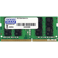 Оперативная память для ноутбука 16GB DDR4 2666Mhz GOODRAM PC4-21300 SO-DIMM 1.2V GR2666S464L19/16G