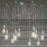 Led лампы светодиодные Эдисона 8 ватт,  лампы ретро-стиля, ретро лампы, винтажные лампы, старинные лампы, фото 4