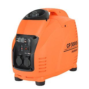 Генератор инверторный PATRIOT 3000i, 3,0/3,5 кВт, уровень шума 63 dB, вес 29,5 кг