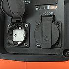 Генератор инверторный PATRIOT 3000i, 3,0/3,5 кВт, уровень шума 63 dB, вес 29,5 кг, фото 7