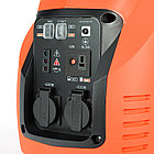 Генератор инверторный PATRIOT 3000i, 3,0/3,5 кВт, уровень шума 63 dB, вес 29,5 кг, фото 10