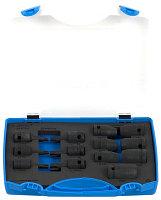 """Набор головок торцевых ударных 1/2"""" с наружным и внутренним профилем TORX в пластиковом кейсе - 231/4PB4 UNIOR"""