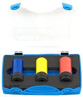 """Набор головок ударных 1/2"""" для легкосплавных колесных дисков в пластиковом кейсе - 231/4PPB UNIOR"""