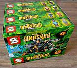 Конструктор Аналог лего Lego 4в1 Jurassic World Мир Юрского периода SY 1504 робозавры охотники 947 деталей, фото 3