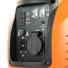 Генератор инверторный PATRIOT 2000i, 1,5/1,8 кВт, уровень шума 58 dB,  вес 18,5 кг, фото 7