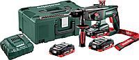 Перфоратор аккумуляторный METABO KHA 18 LTX 3х4,0 Ач LiHD [600210940], фото 1