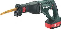 Пила сабельная аккумуляторная METABO ASE 18 LTX 2х4.0 Ач [602269610]