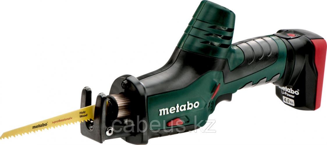 Пила сабельная аккумуляторная METABO ASE PowerMaxx 2х4,0 Ач [602264750]