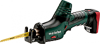 Пила сабельная аккумуляторная METABO ASE PowerMaxx 2х4,0 Ач [602264750], фото 1