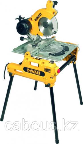 Пила торцовочная сетевая DeWALT DW 743 N комбинированная [DW743N-QS]