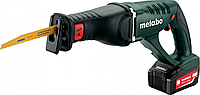 Пила сабельная аккумуляторная METABO ASE 18 LTX 2х5,2 Ач [602269650]