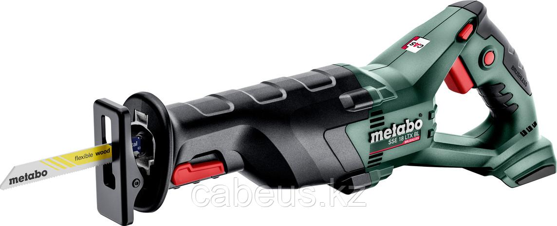 Пила сабельная аккумуляторная METABO SSE 18 LTX BL без АКБ и ЗУ [602267850]