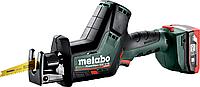 Пила сабельная аккумуляторная METABO SSE 12 BL 2х4.0 А.ч. LiHD [602322800]