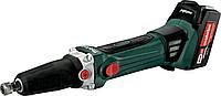Шлифмашина прямая аккумуляторная METABO GA 18 LTX ( 2 х 5,2 Ач ) [600638650]