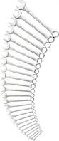 Набор ключей комбинированных STANLEY 1-95-979 26 предметов [1-95-979]