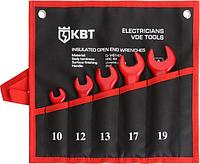 Набор ключей рожковых диэлектрических КВТ НИИ-20 1000 V [74706]