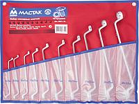 Набор ключей накидных МАСТАК 0231-10P 10 предметов [0231-10P]
