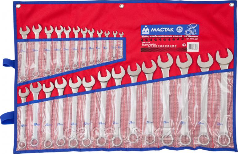 Набор ключей комбинированных МАСТАК 0211-26Р 26 предметов [0211-26P]
