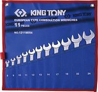Набор ключей комбинированных KING TONY 1211MRN 11 предметов [1211MRN]