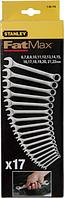 Набор ключей комбинированных STANLEY 1-95-776 17 предметов [1-95-776]