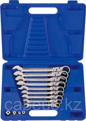 Набор комбинированных ключей с трещоткой KING TONY 13013MR 13 предметов [13013MR]