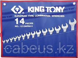 Набор ключей комбинированных KING TONY 1215MRN01 14 предметов [1215MRN01]