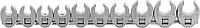 Набор ключей 'воронья лапа' JONNESWAY R19H310S 3/8'DR на держателе, 10-19 мм, 10 предметов [048420]