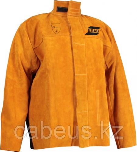 Куртка сварщика кожаная ESAB Welding Jacket размер XXL [0700010274]