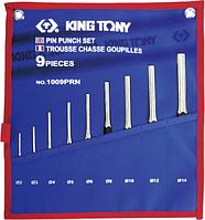 Набор выколоток KING TONY 9 предметов 1009PRN [1009PRN]